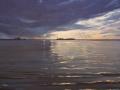 Summer Storm Over Shoalwater, 350 x 450 mm